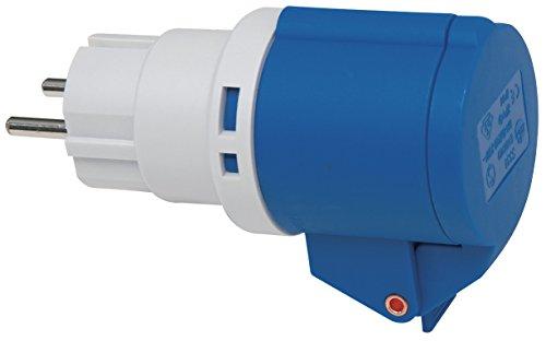 Brennenstuhl 1081571Adaptador con Enchufe Schuko y Conector CEE 3Pines 230V/16A