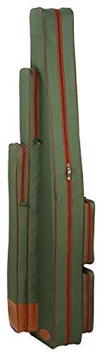 Umhängetasche für Ruten, Kescher und Zubehör 175 cm olivgrün