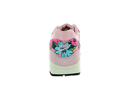 Nike Damen Wmns Air Max 1 Print Turnschuhe Rosa Glasur/Vrsty Violett/Sl/Blk