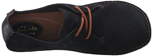 Clarks Janey Mae piatto Navy Suede