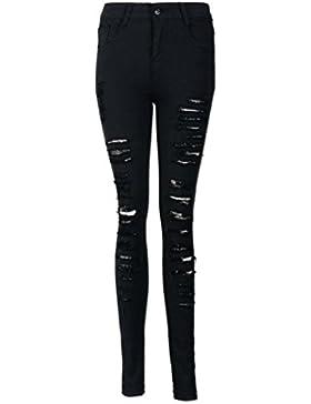 Amlaiworld Jeans Donna Strappa