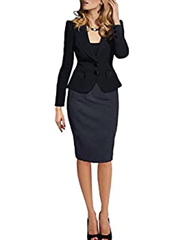 Lrud Women Double Button Tailored Crop Blazer Jacket Suit Slim Fitted Casual Business Evening Lapel Long Sleeve Coat 1