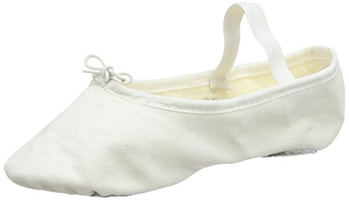 So Danca Mädchen Bae23 Tanzschuhe-Ballett, Weiß (White), 30/31 EU