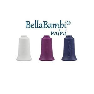 BellaBambi® mini trio weiß, brombeer, nachtblau