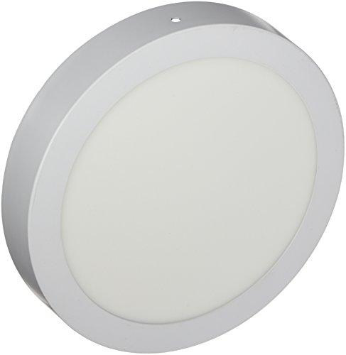 LYO Downlight LED Superficie Redondo, Integrado, 18 watts, Blanco, 22.4 x 3.5 cm