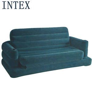 Intex Inflatable Pull-Out Sofa & Bed Mattress Sleeper (68566Np)