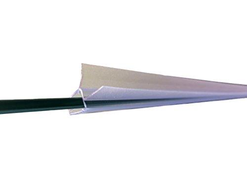 * Guarnizione Profilo di Ricambio per Box Doccia con Protezione Antispruzzo, Idrorepellente, per Vetri con Spessore da 6 a 8mm, Lunghezza 100cm prezzo