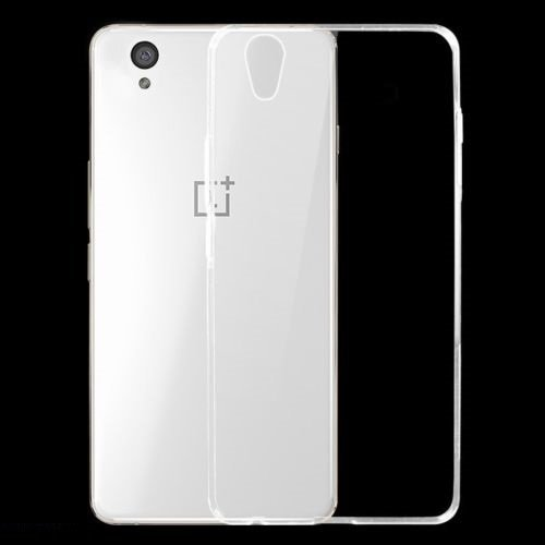 Dashmesh Shopping Ultra Thin 0.3mm Transparent Flexible Soft TPU Slim Back cover Compatible for OnePlus X One Plus X