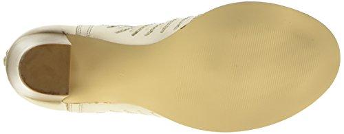 BPrivateE0703X, Stivali classici imbottiti a gamba corta Donna Avorio (Ice)