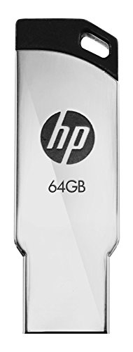 HP V236W USB 2.0 64GB Pen Drive (Silver)