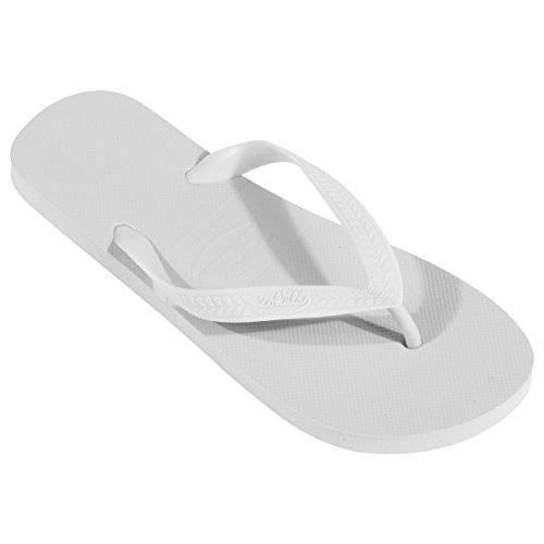 ZOHULA Originals Mini Party Pack Flip Flops - Wahl der Farben - 10 Paar (Weiß)
