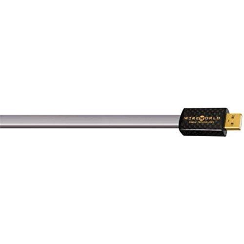Wireworld Starlight Usb (WIREWORLD PLATINUM STARLIGHT USB 2.0 A-B FLAT CABLE 1M)