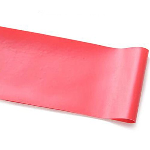 Gemini _ Mall® Widerstand Loop Bands, Home Fitness Übungsbänder für Workout & Physikalische Therapie, eguide & Online Video-, Pilates, Yoga, Reha, die Verbesserung der Mobilität und Stärke, rot