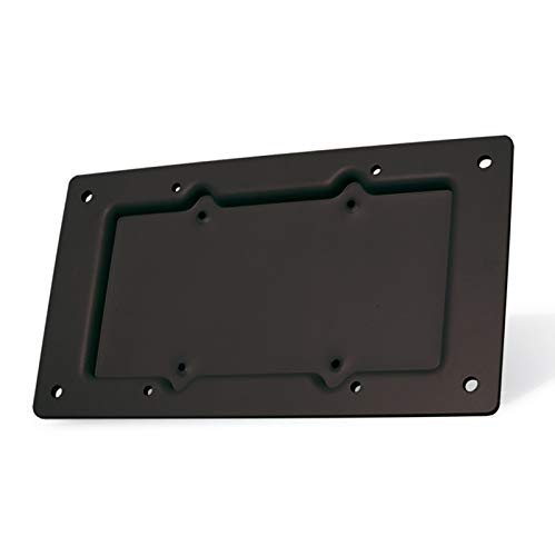 ROLINE VESA Adapter aus Stahl in schwarz | Halterung für Monitor oder Bildschirm | Wandhalterung TV | 75 x 75 auf 100 x 200 / 100 x 200 Vesa-adapter