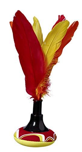Best Sporting Handfederball Indiaca, Mehrfarbig , 23 cm
