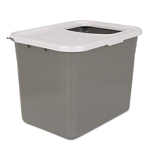 Petmate litter pan - toilette per gatti con entrata dall'alto. 50,8 x 38 x 38 cm