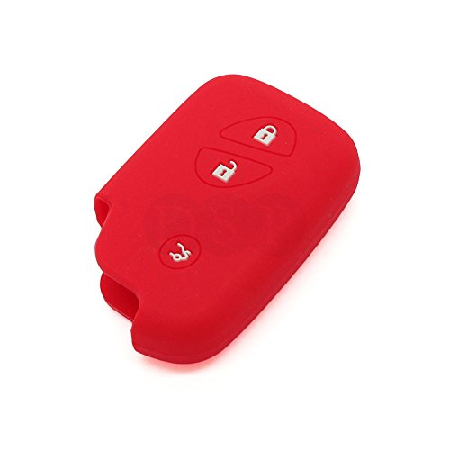 fassport-silicone-cover-skin-jacket-fit-for-lexus-smart-remote-key-cv3406-red