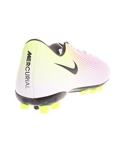 Nike Mercurial Victory V Ag, Chaussures De Football Unisexe - Enfants 0-24 Blanc (blanco (blanc / Noir-volt-total Orange))