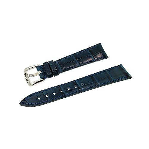 Armband 1960 Kalbsleder für Herren blau