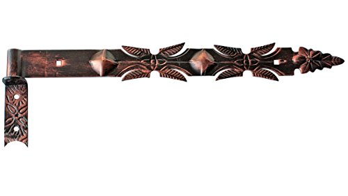 Ladenband Türband Türbänder Torbänder 600 + 16 mm Kloben Kupfer Schmiedeeisen (1150 Scharnier)