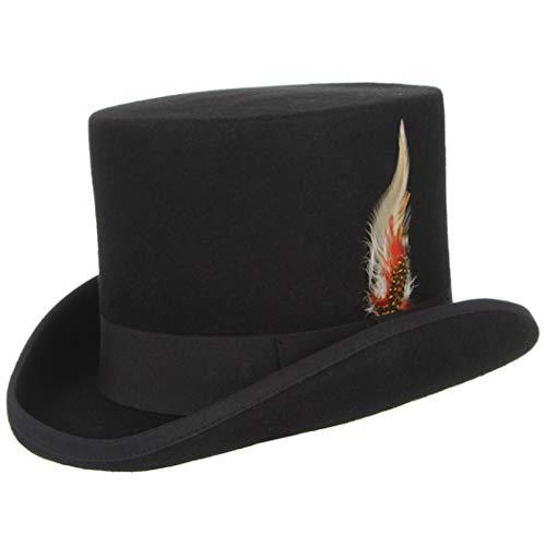 Unisex Wollfilz Top Hüte Derby Magier Hut für Cosplay - Party Stadt Hunde Kostüm