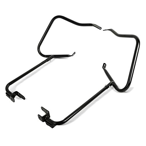 Kit de Protection de Sacoche pour Harley Davidson Road King Special 17-20 Noir
