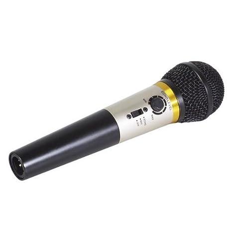 M. Entertainer Karaoke Microphone Avec Contrôle Echo Intégré 4 Paquet / S