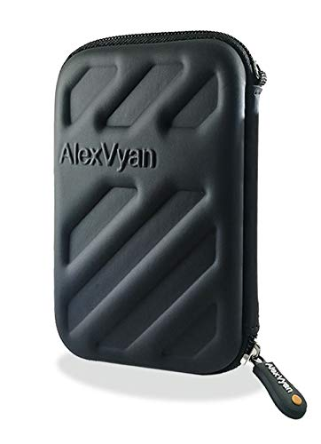 Alexvyan Shock Proof External Hard Disk Case Protector for Toshiba Canvio Alumy 1TB Wired External Hard Disk Drive