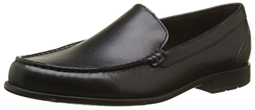 Rockport Herren Classic Loafer Venetian Black Ii Slipper, Schwarz (Black), 44,5 EU Rockport Penny Loafers