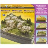 Woodland Scenics Karton Diorama Kit Mountain