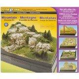 Woodland Scenics Karton Diorama Kit Mountain