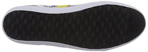 Bikkembergs 641073 Herren Sneakers Grau (Grau/Gelb)
