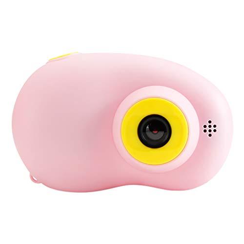 Sofortbildkamera, Chshe  Hp 1080P Tragbare Kamera Digitale Videokamera 2-Zoll-Lcd-Bildschirm Für Kinder, Geschenke Für Freunde   Pink  