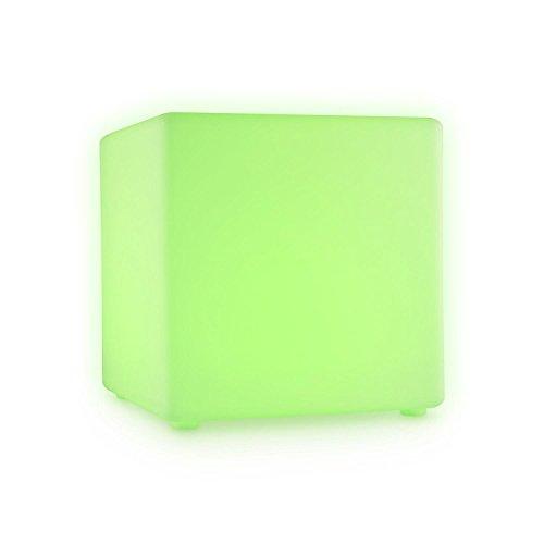 Blumfeldt Shinecube cubo sentarse 30 x 30 x 30 cm