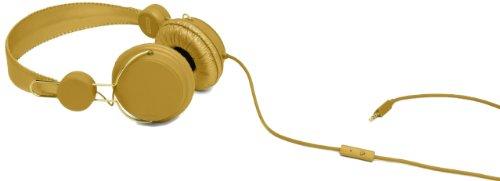 Coloud Colors Gold On-Ear Kopfhörer mit Mikrofon und Fernsteuerung (Stufenlose Größenverstellung) gold