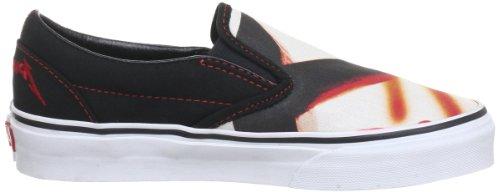 Vans U Classic Slip-on Vqfd7lq, Chaussures Unisexe Adulte Noir (schwarz ((metallicakille))