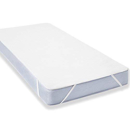 Uniento Wasserdichter Matratzenschoner für Kinder (60x120cm) - Babybett Atmungsaktiv, Anti-Allergisch gegen Milben und Schimmel - Matratzenbezug mit neuartiger Behandlung: Optimaler Schutz