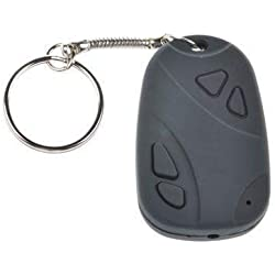 Msrs sales Spy Keychain Hidden Camera with Audio Video Recording & SD Card Support