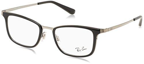 Ray-Ban Herren Brillengestelle 6373M, Schwarz (Negro), 52 (Rx Ray-ban Wayfarer)