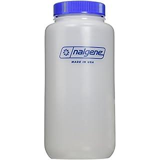 Nalgene HDPE WH Trinkflasche, transparent, 1.0 Liter