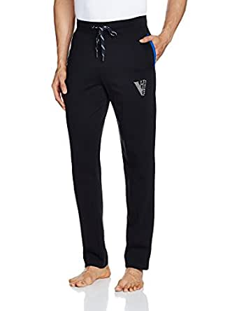 Van Heusen Men's Track Pant (50043_Small_Black)