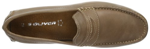 s.Oliver Casual, Mocassins Homme Marron - Marrone (Braun (Brown 300))