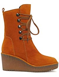Amazon.es  La Mostaza - Botas   Zapatos para mujer  Zapatos y ... 5bb5cf42b81d