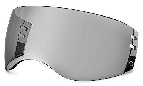 Oakley Aviator Pro Cut Hockey Visier, Hockey Aviator Pro Cut - Grey, grau, Einheitsgröße (Aviators Oakleys)
