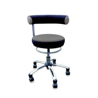 Standard-sitzhöhe (Sanus Gesundheitsstuhl Erzieherstuhl, Sitzhöhe standard (42-51 cm), grau/schwarz)