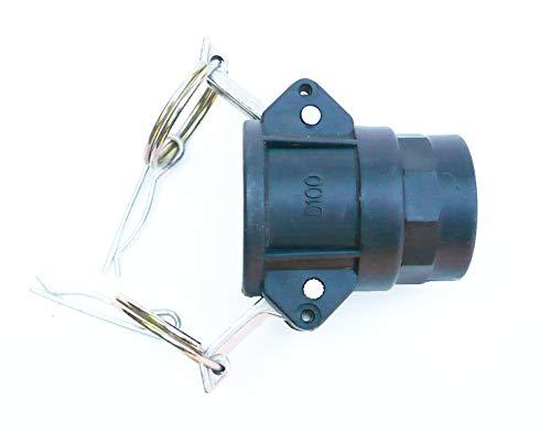 Partie D. Cylindre Fixation. 2,5 cm IBC femelle Cam à 2,5 cm BSP filetage femelle