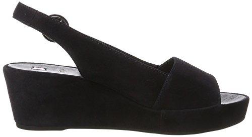 Högl Damen 3-10 3202 3000 plateau sandals Blau (Ocean3000)