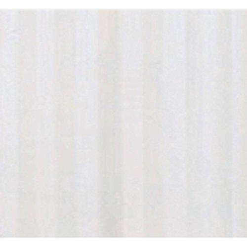 Maurer 94851 tenda doccia in tessuto poliestere, 180 x 200 cm, strisce bianche