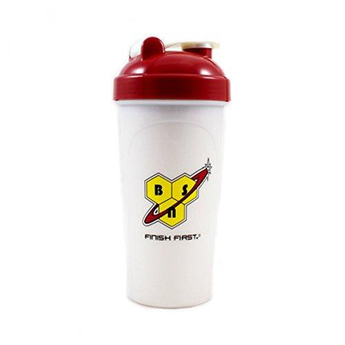 BSN Shaker Shaker da 700ml, colore: bianco