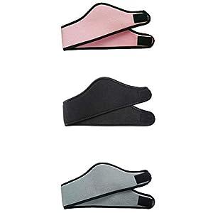 Mondeer 3Pack Winter warme Stirnband Ohr warmes Licht einstellbar volle Abdeckung Ohrenschützer für LuckyUK